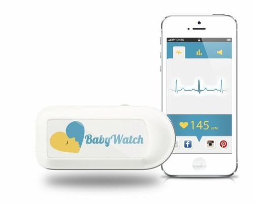 BabyWatch Health Tracker Lets Expecting Mothers Share Their Babies' Heartbeats