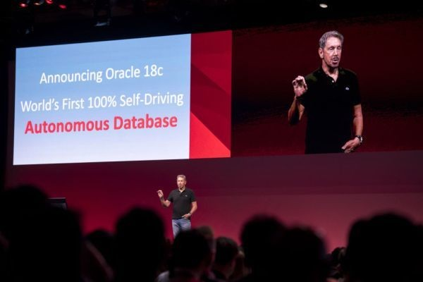 Oracle launches autonomous database for online transaction processing