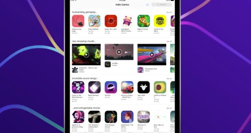 Apple gives indie gamers a permanent home on the App Store