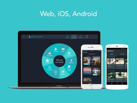 Meditation startup Simple Habit adds Android, web app