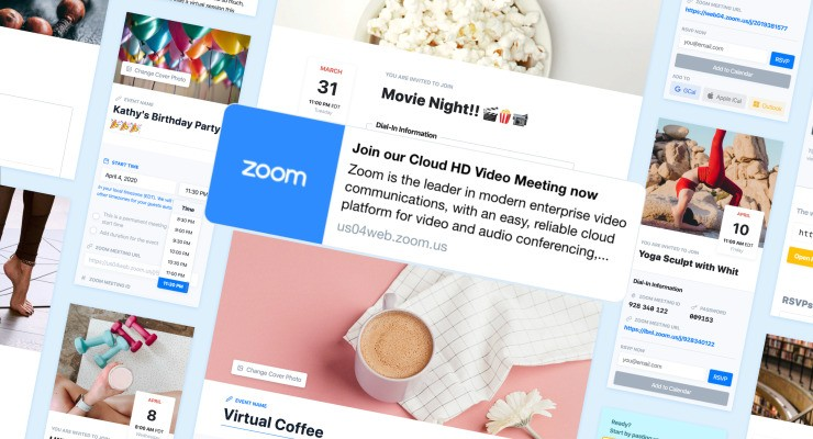 ZmURL customizes Zoom link previews with images & event sites – TechCrunch