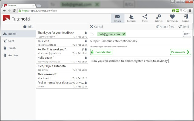 Tutanota, An Open Source Encrypted Gmail Alternative, Heads Out Of Beta