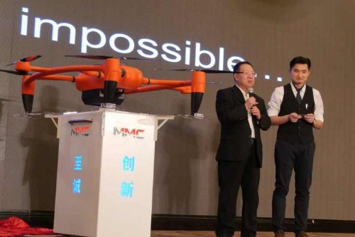Firefighting drone serves as a reminder to be careful with crowdfunding campaigns