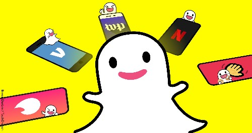 To stop copycats, Snapchat shares itself