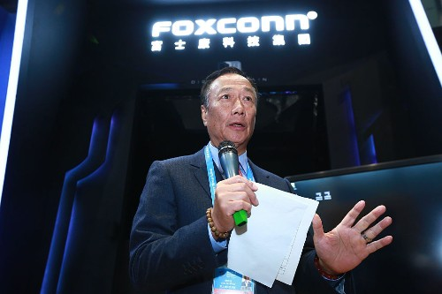 Terry Gou resigns as Foxconn's chairman to run for president of Taiwan