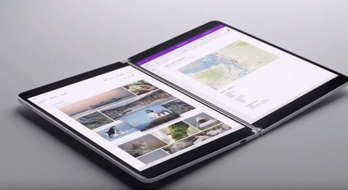 Microsoft teases Neo dual-screen Surface, set to debut holiday 2020