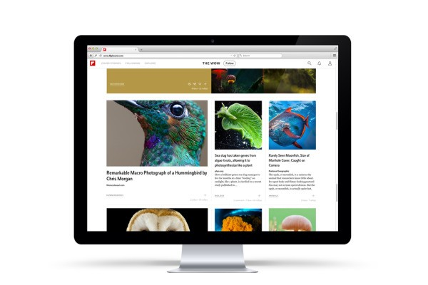 Flipboard Moves Beyond Mobile To Bring Its Personalized News Magazines To The Web