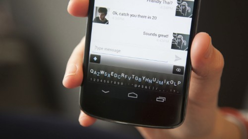 Minuum, The Super Simple Software Keyboard, Launches Android Beta Today