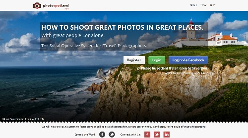 PhotoSpotLand Wants To Help You Take Better Photos