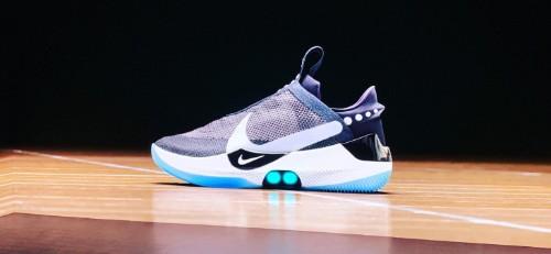 Nike's auto-laced future