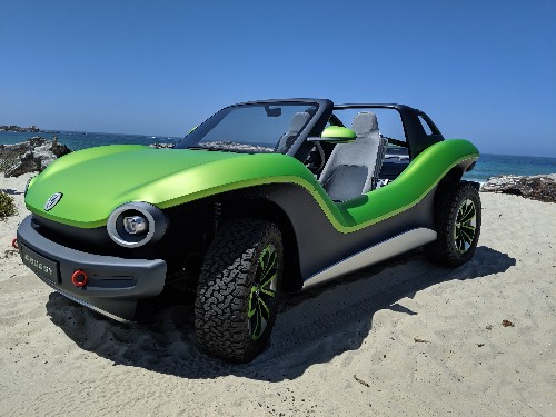 Driving Volkswagen's all-electric ID Buggy concept