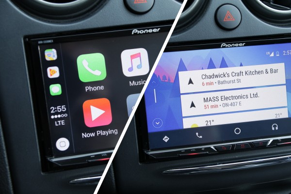 Pioneer's AVH-2330NEX gives you both Android Auto and CarPlay — without a new car price tag