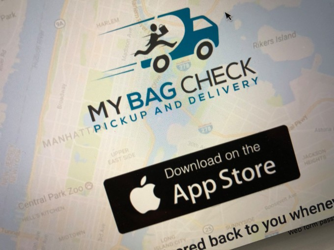 MyBagCheck lets you drop off your bags anywhere