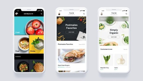 Postmates launches grocery service, scheduled deliveries and revamped app