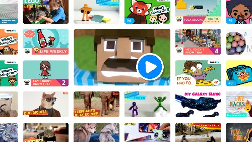 Toca TV is a new streaming service just for kids