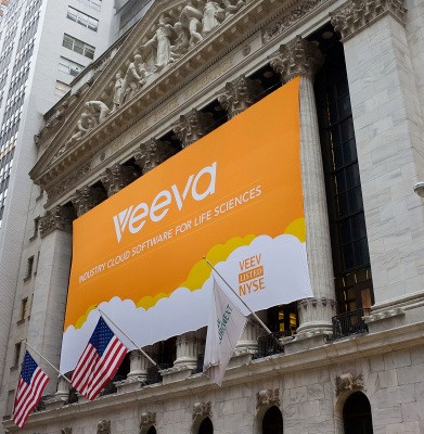 Veeva Systems' Life Science Cloud IPO Is A Hit, Raising $217M And Closing Up 85%
