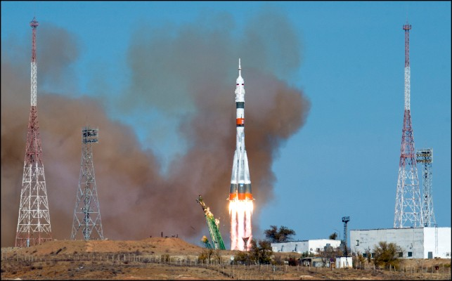 Latest Space Station crew docks in record time following successful launch