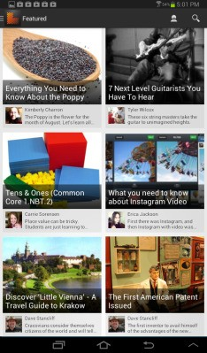 "With 1M Users Now On Board, Learnist Brings Its ""Pinterest For Learning"" To Android"