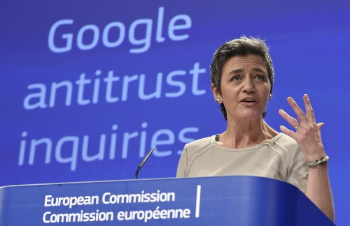 Don't break up big tech -- regulate data access, says EU antitrust chief