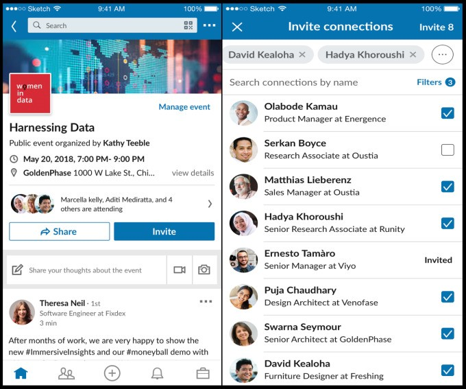 LinkedIn gets physical, debuts Events hub for people to plan in-person networking events