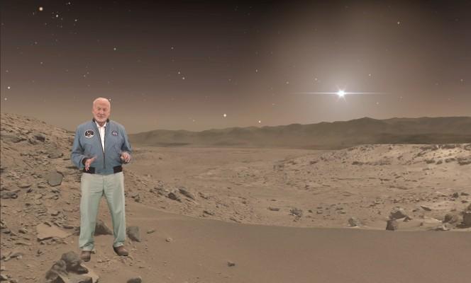 "NASA partners with Microsoft to launch ""mixed reality"" Mars exhibit"