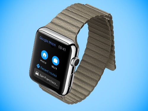 Google Maps Comes To Apple Watch