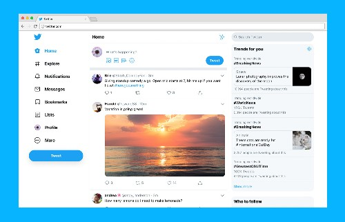 Twitter.com launches its big redesign with simpler navigation and more features
