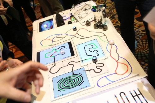 Ozobot's Tiny Robots Use Squiggly Lines And Google's Blockly To Teach Kids To Code