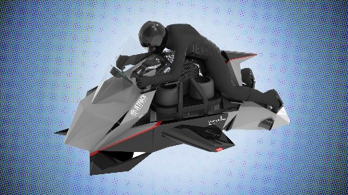 YC's latest moonshot bet is a startup building a $380K 'flying motorcycle'