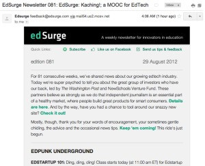 EdSurge Nabs $400K From Washington Post, NewSchools To Be A Resource For All Things EdTech
