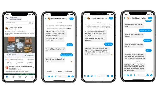 Facebook rolls out new business tools for Messenger, kills the 'Discover' tab