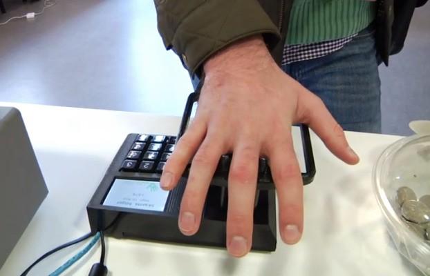 Biometric Startup Quixter Demos Pay-By-Palm Tech