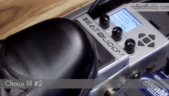 The BeatBuddy Pedal Lets You Build Beats With Your Feet