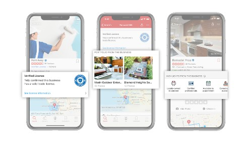 Yelp adds portfolios and highlights to its business profiles