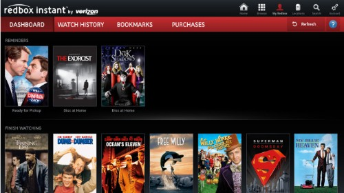 Google TV Adds Redbox Instant By Verizon App, Pitting It Against Netflix On The Platform