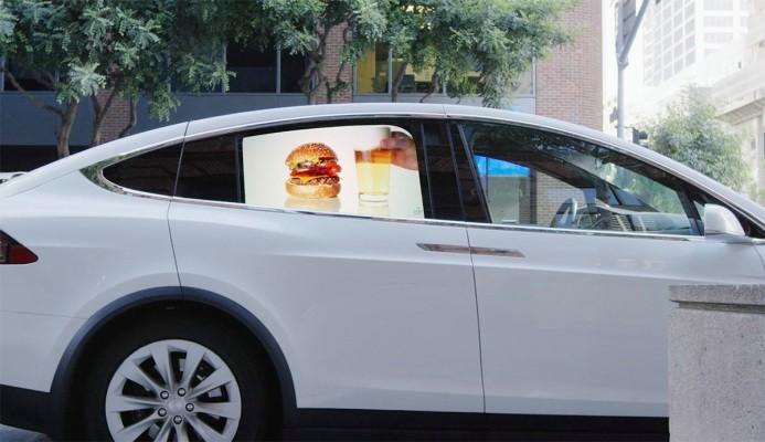 Grabb-It wants to turn your car's window into a trippy video billboard