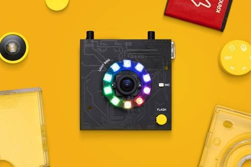 Kano's latest gadget: a build-it-yourself camera for custom photo filters and GIFs
