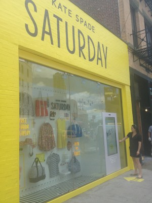 eBay Gets Physical With A Street-Side Sales Kiosk For Kate Spade Saturday