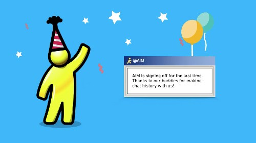 AOL Instant Messenger is shutting down after 20 years