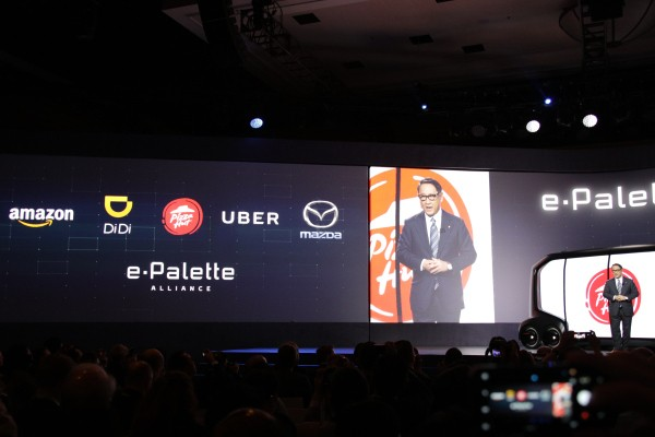 Toyota teams up with Uber, Amazon, Pizza Hut and more on mobility services