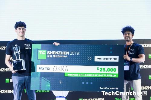 And the winner of Hardware Battlefield at TechCrunch Shenzhen 2019 is… Okra