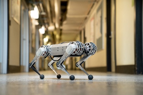 MIT's speedy Mini Cheetah robot learns to backflip