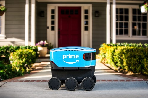 Amazon is piloting its own delivery robot