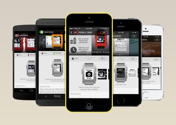 """Pebble's Official Appstore Coming """"Early 2014,"""" Will Be Built Into Android And iOS Pebble Apps"""