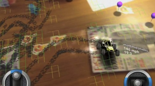 Dekko Debuts An Augmented Reality Racing Game Playable From The iPad