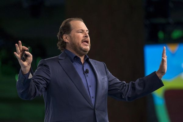 Salesforce asserted itself in 2016