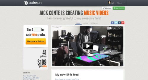 Pomplamoose's Jack Conte Creates A Subscription-Based Funding Site For Artists