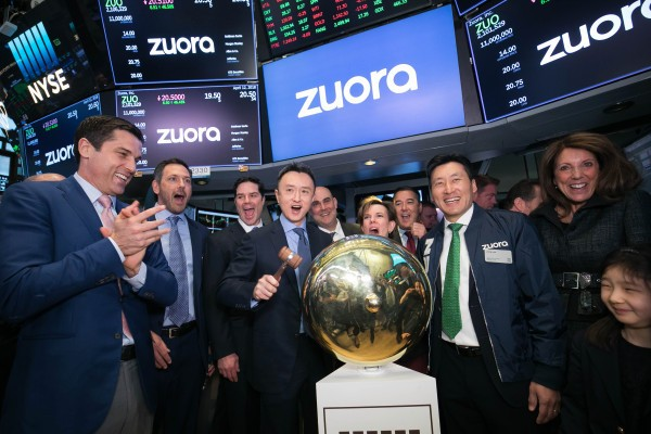 Subscription biller Zuora soars 43% following IPO