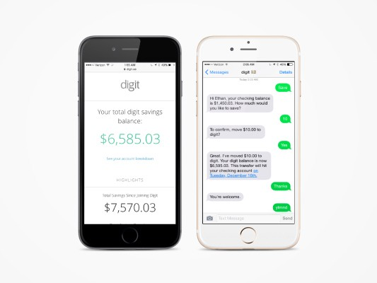 With $2.5M In Seed Funding, Digit Saves Money For You So You Don't Have To Think About It