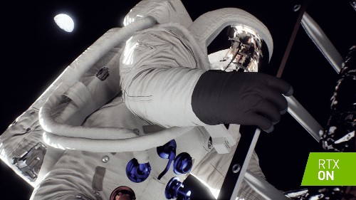 Nvidia recreates the Apollo 11 landing with real-time ray tracing